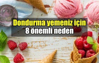 Dondurma Yemeniz İçin 8 Önemli Neden